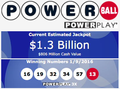 1.3 billion powerball 1