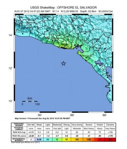 earthquake el salvador