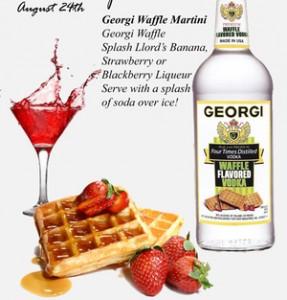 waffle vodka