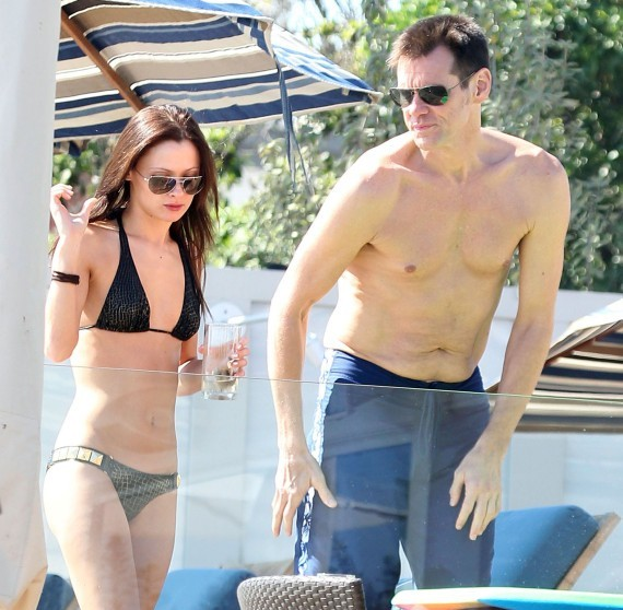 Jim Carrey  amp  Anastasia Vitkina  The Perfect Couple for Costa RicaJim Carrey Younger Girlfriend
