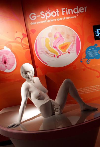 Women using unusual sex toys