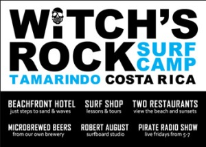 Witches Rock Surf Camp - Costa Rica