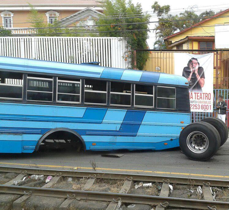 The Bus Did Not Quite Make the Railroad Jump