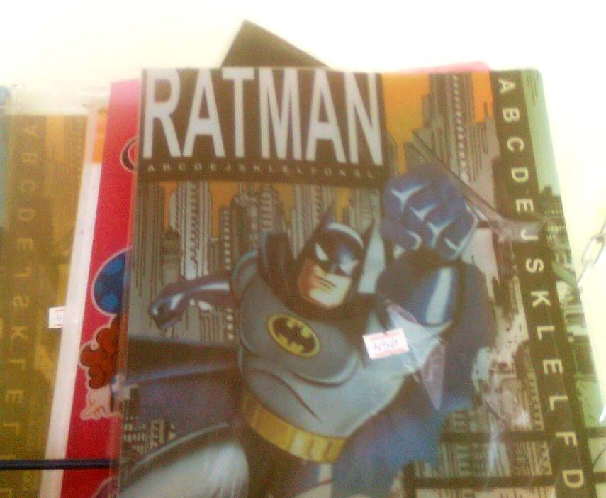 A Frist Edition Ratman Comic