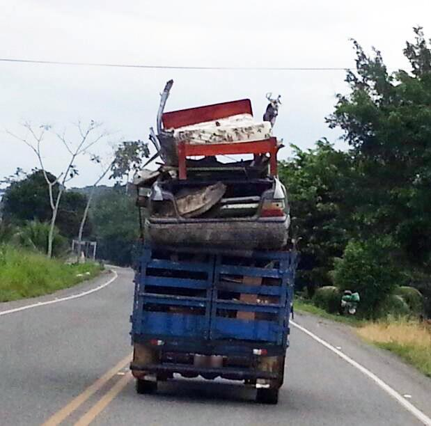 Costa Rica All in One Tow Truck and Mover