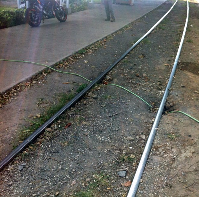 Save the Hose from the Train