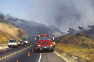 costa rica forest fires