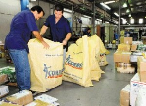 costa rica shipping packages