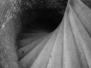 downward-spiral-stair