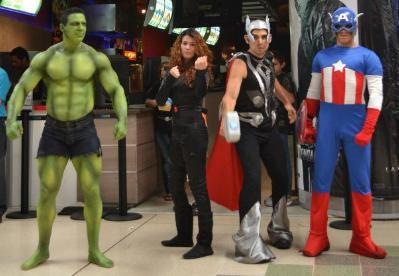 The Avengers Costa Rica Style.....LOL
