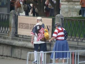 annoying tourists