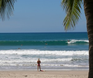 costa rica south surfing