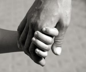grandmother hand