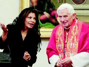 Benedict XVI, Laura Chinchilla