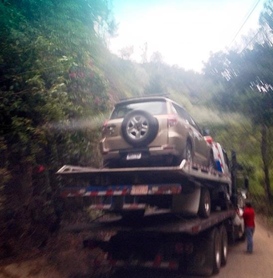 Costa Rican Tow Truck