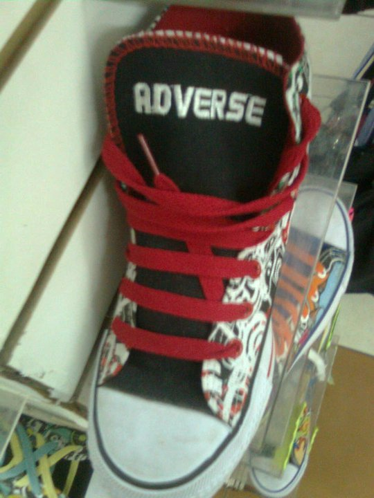 Costa Rican Version of Converse