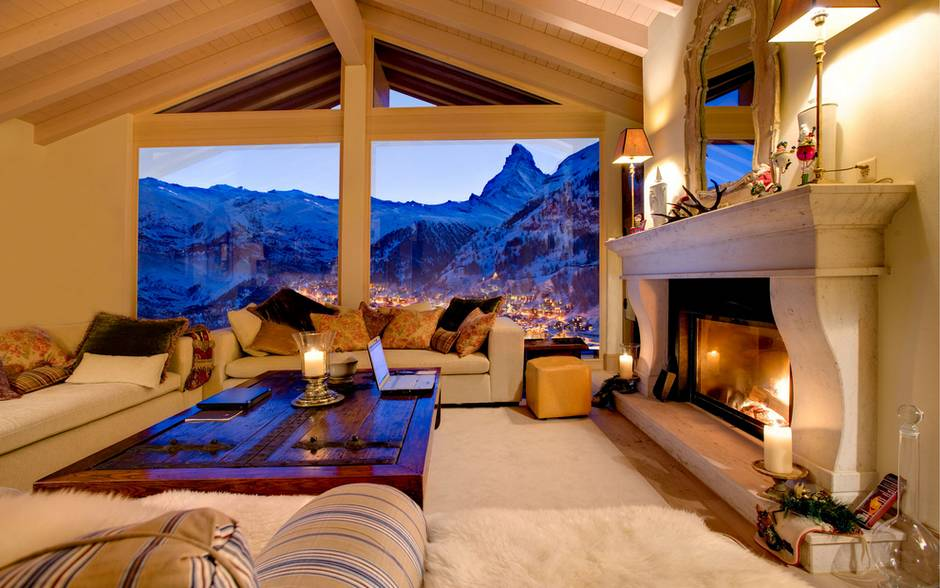 The Firefly ski chalet in Zermatt, Switzerland