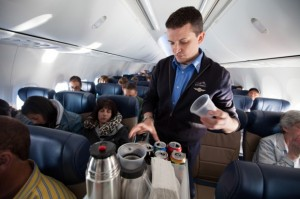 airplane beverage cart