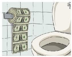 dropping dollar