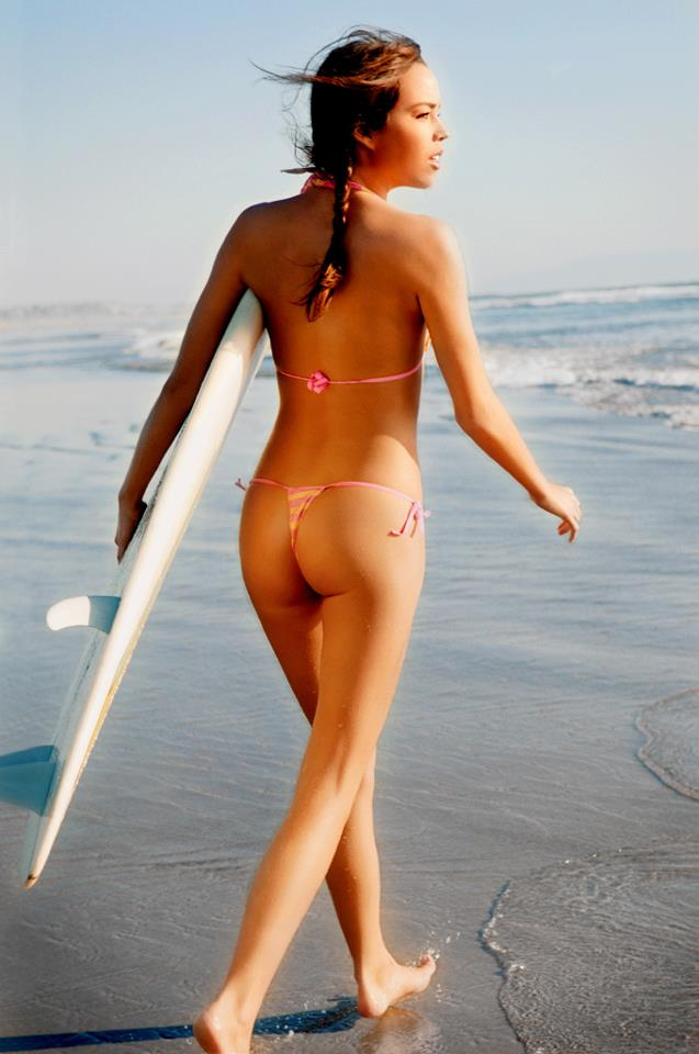 hot surf girl
