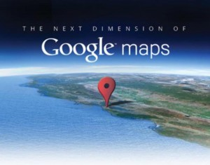 new google maps main