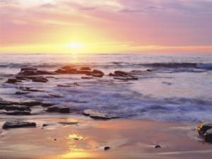 pacific ocean sunset 2