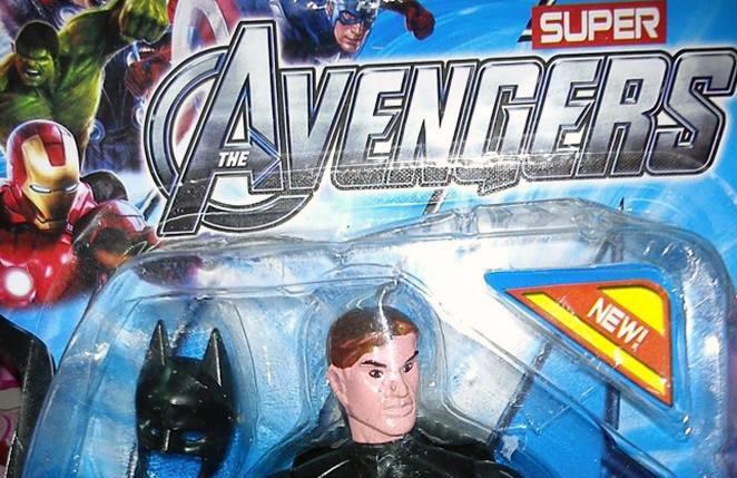 Batman Made the Avengers in Costa Rica