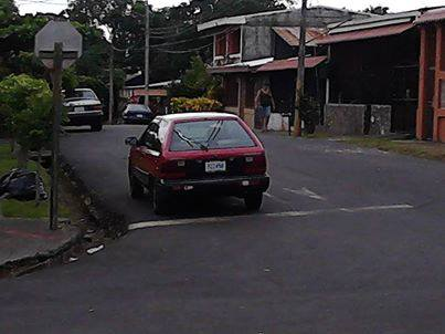 Great Costa Rica Parking