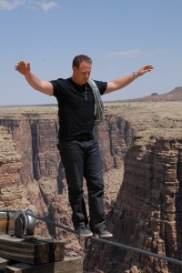 Nik Wallenda grand canyon 1