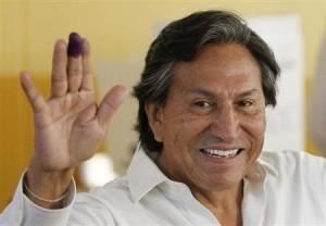 Peruvian President Alejandro Toledo 1