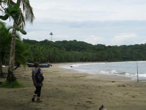 caribbean costa rica empty beach