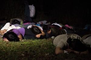 mexico fake border crossing