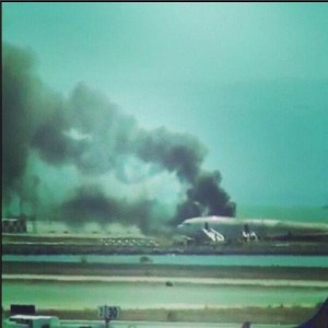 Asiana Airlines crash san francisco 1