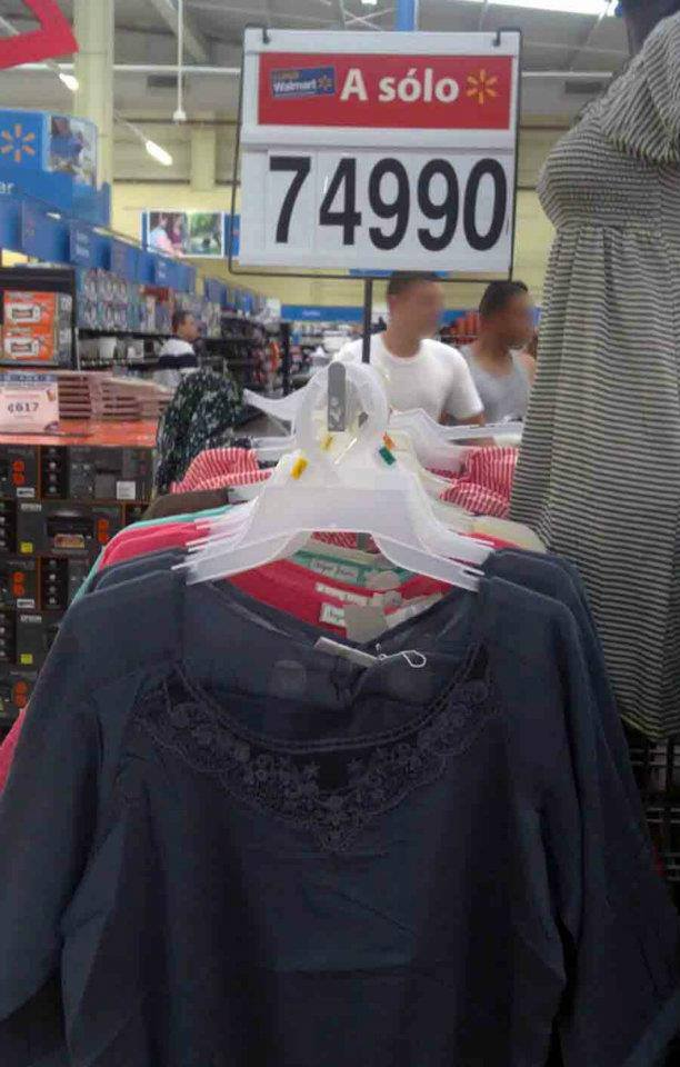 Low Prices at The Costa Rica Walmart