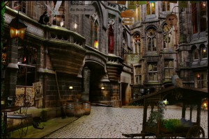 harry potter diagon alley 1