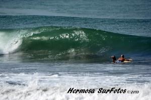 playa hermosa surfing