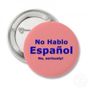 not speaking spanish in costa rica