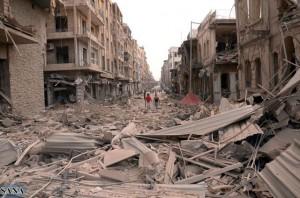 Deadly Blasts Rip Through Aleppo, Syria