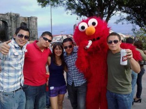 Elmo Has Taken To Tico Drinking Habits