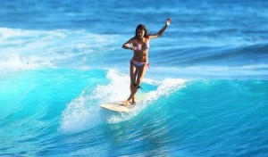hot surfer girls in bikinis 1