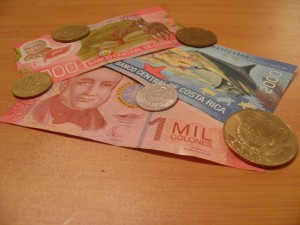 costa rica to dollar exchange rate