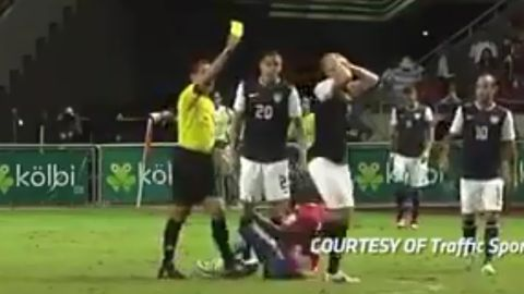 FIFA Punishment for Costa Rica Soccer Player's Dive   The ... Joel Campbell Dive