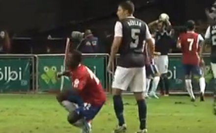 FIFA Punishment for Costa Rica Soccer Player's Dive | The ... Joel Campbell Dive