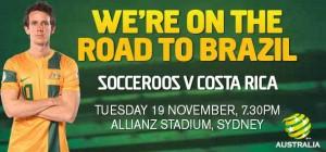 Costa Rica vs Australia Socceroos Preview