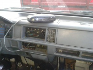 Costa Rican Car Radio