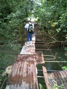 Suicide Bridge in Costa Rica