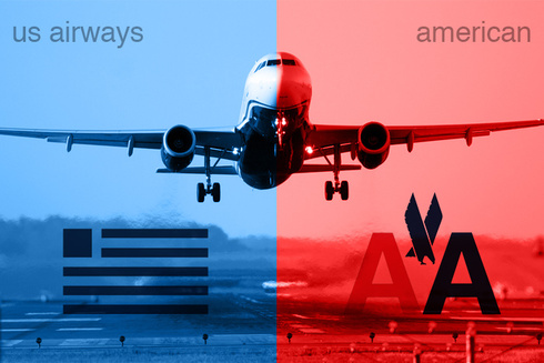 american airline and us airways merger A key step in the merger between american airlines and us airways is scheduled for saturday even if american airline us airways planes with.