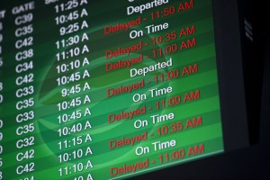holiday flight delays