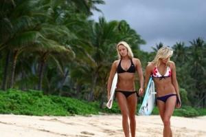 hot surf girls in bikinis 1