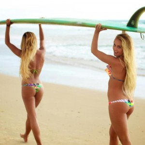 hot surfer girls in bikinis 3
